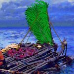 無人島生活を終え島を脱出してからの漂流サバイバル